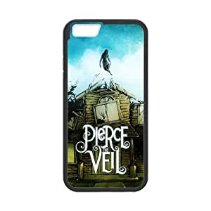 At-Baby Custom Band Pierce The Veil Fashion Style Pattern Iphone 6 4.7 inch Case (Laser Technology)