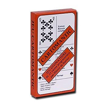e519fe484fecb0 Jeu de 32 cartes   Cartomantic  Amazon.fr  Jeux et Jouets