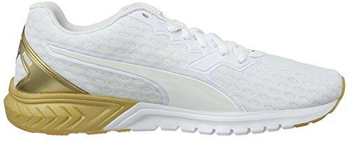 para de Running Ignite Mujer Wn's Puma Zapatillas Oro Dual Blanco qwYI7nT