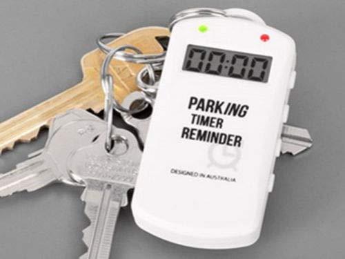 Parking Timer Reminder Keychain