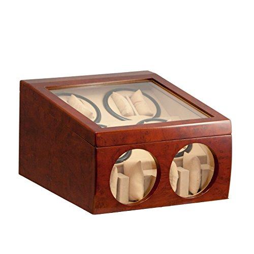 brand-new-8-4-automatic-rotation-burl-wood-quad-watch-winder-storage-display-case-box-organizers