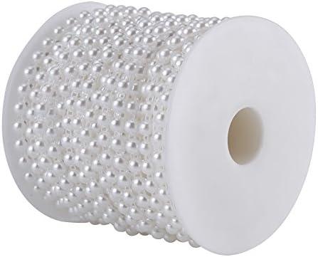 Cuentas de línea de algodón, 25M / Rollo Perlas semicirculares ...