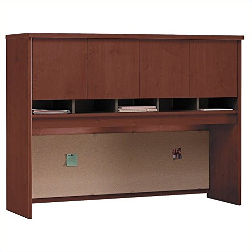 60 in. Storage Hutch w Four Doors in Hansen Cherry - Series C by Bush Business Furniture