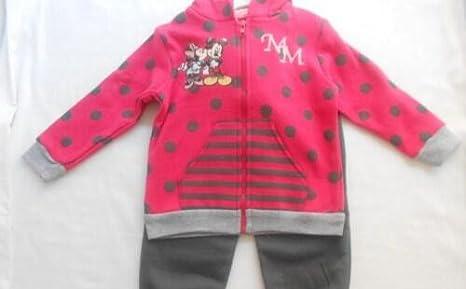 Disney - Chandal Niño Rojo, Talla 36 Meses: Amazon.es: Bebé