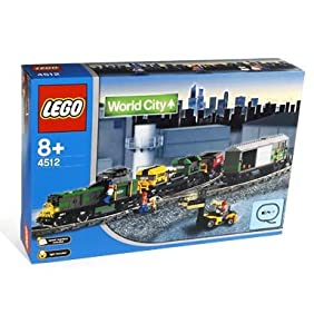 LEGO World City 4512 Cargo Train