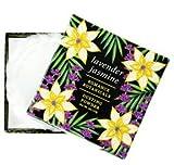 Greenwich Bay LAVENDER JASMINE Dusting Powder with Puff, Romance Botanicals 4 oz