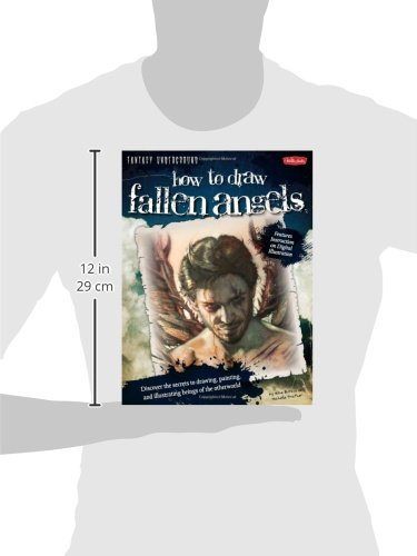 how to draw fallen angels book