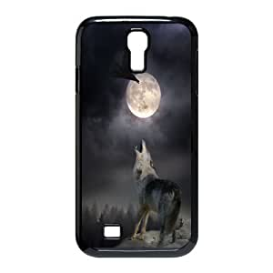 [H-DIY CASE] For SamSung Galaxy S4 Case -Wolf,Wolves and Moon Pattern-CASE-15