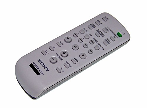OEM Sony Remote Control Originally Shipped With: MHCRG595, MHC-RG595, MHCRG295, MHC-RG295, HCDEC50, HCD-EC50 (Universal Tv Remote Sony For)