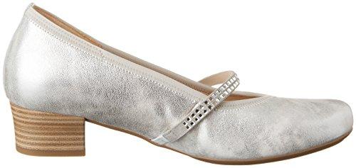 Gabor Women's Comfort Closed-Toe Pumps Silver (Silver 61) uN5w6sC