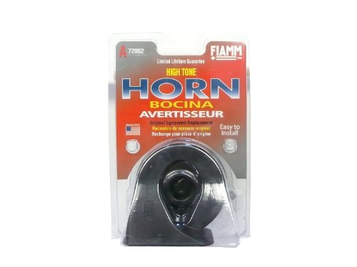FIAMM 72002 HIGH Note Replacement Horn (1990 Pontiac Firebird Replacement)