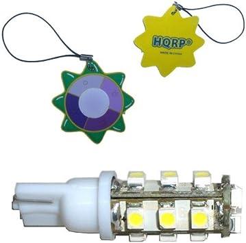 2x HQRP BA15s LED White Light 12V 16-SMD Bulbs for 1141 1156 RV Trailer Interior