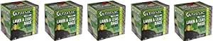 "Aluf Plastics 769646 Ultrasac Heavy Duty Professional Quality Lawn and Leaf Trash Bag, 39 Gallon Capacity, 43"" Length x 33"" Width, Black (Case of 100) (5-(Case of 100))"