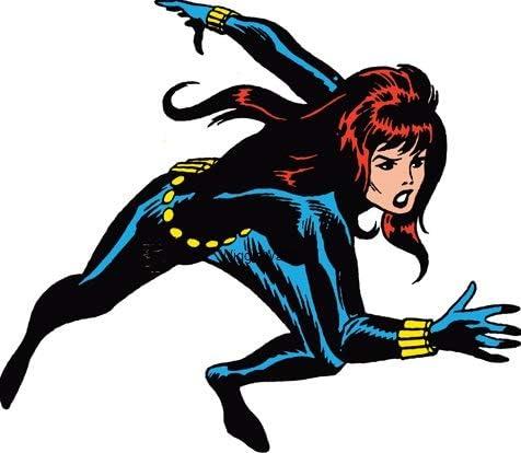 Black widow avengers comic