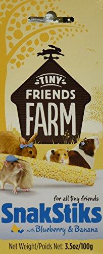 Supreme Pet Foods Tiny Friends Farm Snaksticks Blueberry Banana: 3 5 Oz