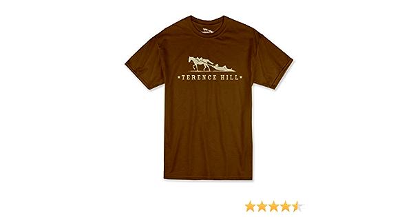 Braun Terence Hill Official T-Shirt Logo S