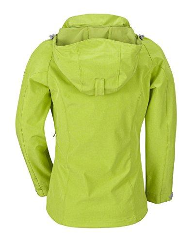 WÄFO Chaqueta Soft Shell Verde ES 42 (DE 40)