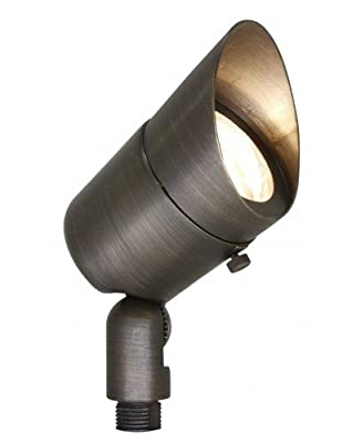 Westgate LED Landscape Garden Lights Directional Spotlights Die-Cast Housing - IP67 and IP54 Level Rating - 12V AC- 36 Degree Beam Angle- Convex Glass Lens - 5 YR Warranty- Accessories Included
