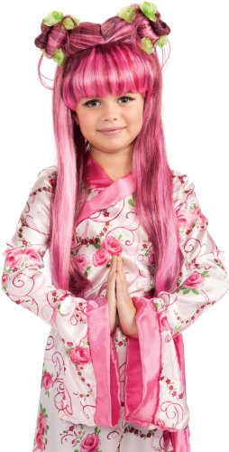 [Rubies Child's Asian Princess Costume Wig] (Anime Girl Costumes)