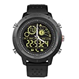 Wowpower for iOS&Android NX02 Sports Smart Watch,Waterproof Bluetooth Fitness Tracker with Heart Rate Monitor,Pedometer Watch with Step Calories Counter Energy Consumption for Men Women Kids