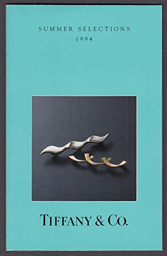 Tiffany & Co Summer Selections 1994 catalog Paloma Picasso cover ()