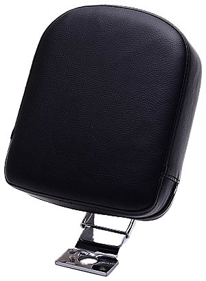 Bestem CHSU-M109R-DR Chrome Custom Driver Backrest for Suzuki M109R