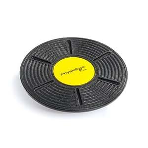 PhysioRoom Tabla Disco de Equilibrio de 33cm - Plataforma Regulable de Coordinación Balance Board para Fitness y Rehabilitación