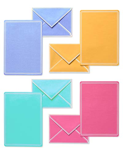 (American Greetings Pastel Stationery Sheets and Colored Envelopes, 80-Count)