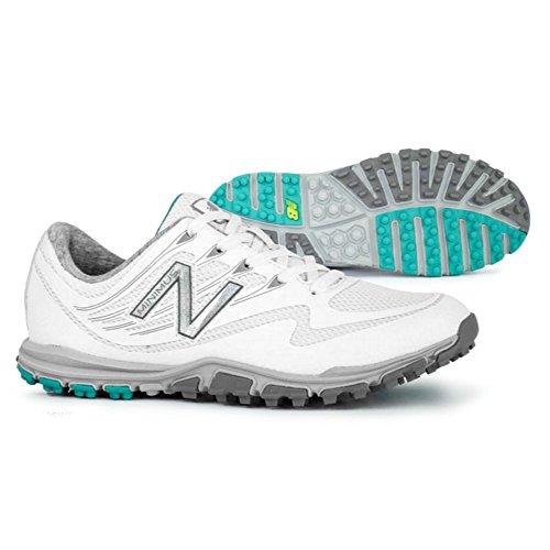 New Balance Women's Minimus Sport Golf Shoe, White, 6 B B US