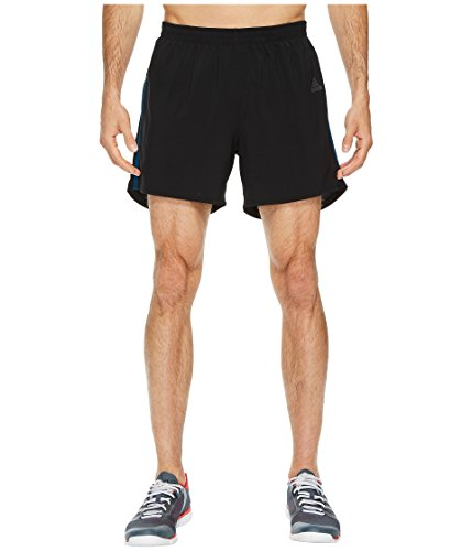 adidas Men's Running Response Shorts, Black/Blue Night, X-Large 5