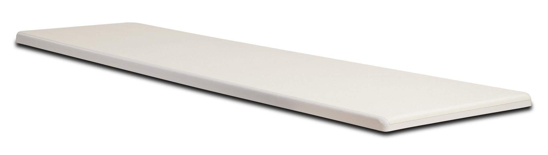 S.R. Smith 66-209-596S2 Frontier III Replacement Diving Board, 6-Feet, Radiant White (Renewed) by S.R. Smith