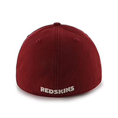 NFL Washington Redskins Franchise Fitted Hat, Small, Razor Red