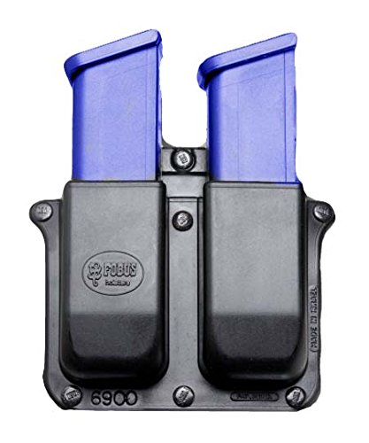 Belt Pouch Fobus - Fobus Roto Belt 6945RB Double Mag Pouch 10mm/45acp Glock & Para Ord.