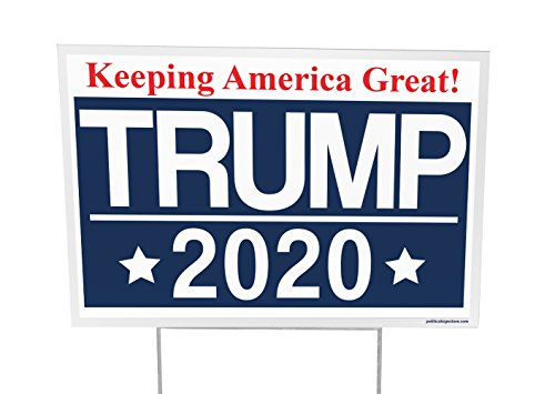 Trump For President 2020 Outdoor Yard Sign - 12x18 - Imagine This Company by Imagine This