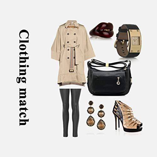Brown Sacchetto Moda Mano Donna 6140 Borsa Tote Morbida Crossbody Spalla Shopper Pu Semplice Tracolla Casual exull A Messenger Pelle wq816qU