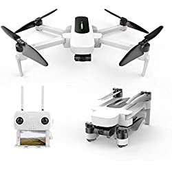 Hubsan Zino Drone Foldable Quadcopter with 4K UHD Video Camera and Brushless Motors