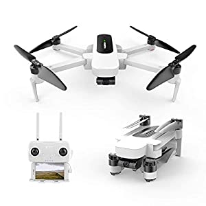 HUBSAN Zino Drone Foldable Quadcopter 4K UHD Video Camera 3-axis(Yaw,Picth,Roll) Brushless Motor with GPS 5.8G WiFi FPV 41mawFLfFzL