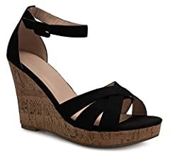 Strap on these wedges confidently knowing that they're both comfortable and stylish.