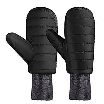 Andake 90% Duck Down Mittens Gloves For Men -20℉ Cold