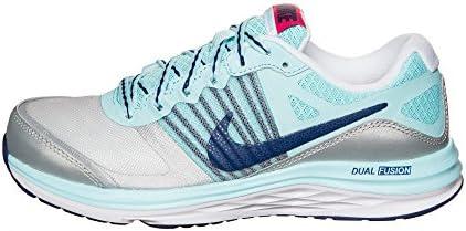 Nike Dual Fusion X (GS) - Zapatillas para niña, Color Gris/Turquesa/Azul Marino, Talla 36.5: Amazon.es: Zapatos y complementos