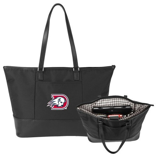 Dixie Stella Black Computer Tote 'Primary Mark' by CollegeFanGear