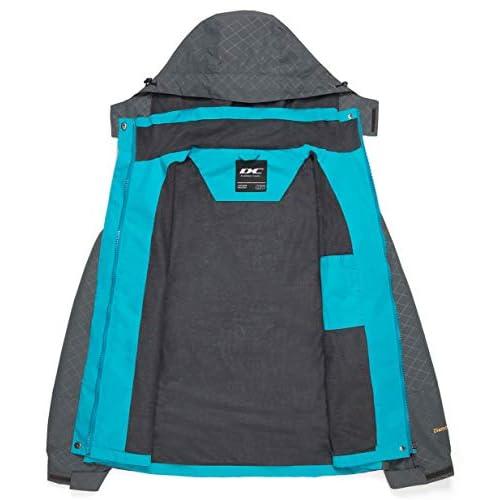 Rdruko Womens Rain Jacket Waterproof Lightweight Hiking Travel Outdoor Sports Casual Jacket