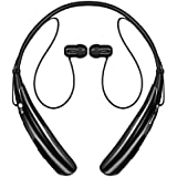 LG Tone Pro HBS-750 Bluetooth Stereo Headphones with Microphone - Black (Certified Refurbished)