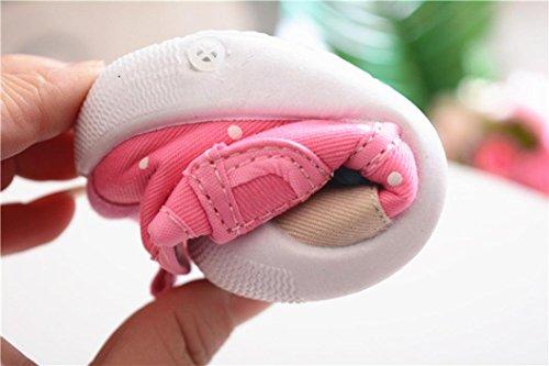 Zapatos de Bebé 💋💝 Yesmile Niños Bebés Niños Niñas Dibujos Animados Anti-slip Zapatos Suela Suave Chirriantes Zapatillas: Amazon.es: Ropa y accesorios
