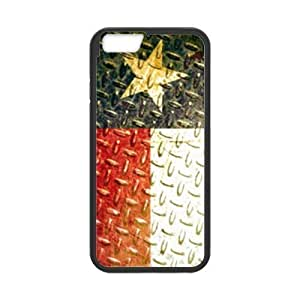 Generic Best Slim Texas State Flag - Vintage Metal Design Case Cover for Iphone 6 For Impact Protection Super Fit Iphone 6 PC(Laser Technology) - 4.7inches