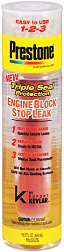 Prestone AS661 Engine Block Stop Leak with Kevlar, 16.5 fl. oz.