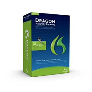 Dragon NaturallySpeaking Premium 12, English, Bluetooth (Wireless)