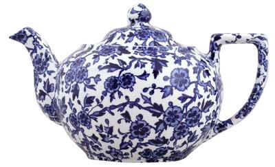 Burleigh Blue Arden Teapot Large 1 litre