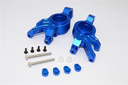 Aluminum Front Steering Blocks Left /& Right 1PR for Traxxas XMAXX X-Maxx 6S 8S 7732 Blue