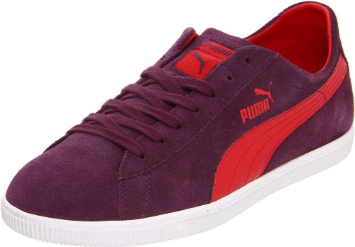 Puma Women's Glyde LO Fashion Sneaker,Italian Plum/Ribbon Red,10 B US